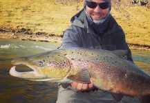Brett OConnor 's Fly-fishing Picture of a Grilse | Fly dreamers