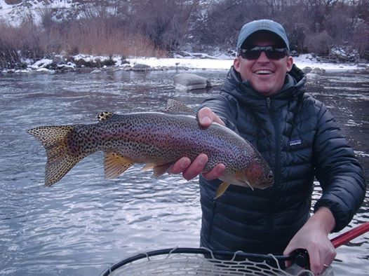 Top fly patterns for winter trout in colorado articles for Best fly fishing in colorado