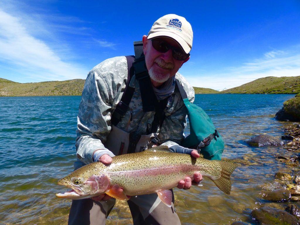 Joe libeu fly fishing guide fly tying instructor for California fishing guide