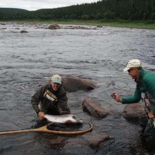 Exceptional Salmon fishing!