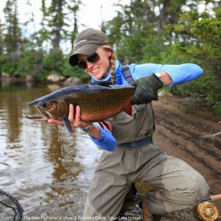 Outstanding Brook Trout fishing at Igloo Lake Labrador