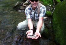 Tyler Barnby 's Fly-fishing Image of a Brookies | Fly dreamers