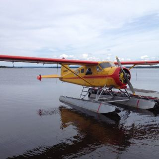 1951 refurbished Beaver Floatplane (like new) - just 40 minute flight to Igloo Lake lodge from Goose Bay.