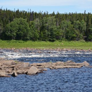 Owl Brook - Upper Eagle River, outstanding Salmon fishing, just 15 minutes from Igloo Lake Lodge.