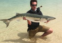 Nicolas  Grosz 's Fly-fishing Picture of a Barracuda | Fly dreamers