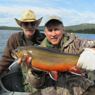Excellent Brook Trout fishing at Igloo Lake  Labrador
