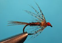 Fly-tying for Brookie - Picture shared by Jimbo Busse | Fly dreamers