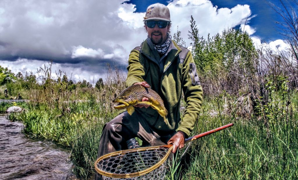 Orion good fly fishing guide fly tying instructor fly for Durango co fly fishing