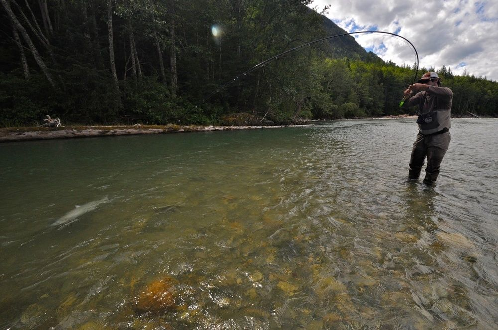 Kimsquit bay lodge fly fishing lodge fly dreamers for British columbia fishing lodges