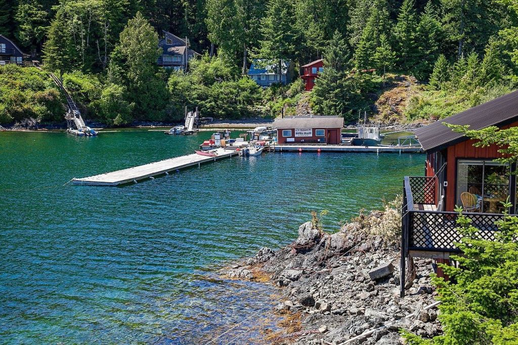 Nootka island lodge fly fishing lodge fly dreamers for British columbia fishing lodges