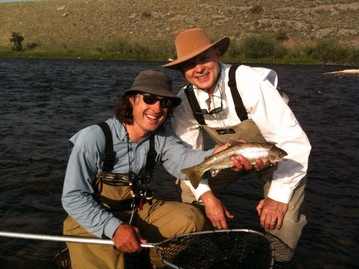 The old kirby place fly fishing lodge fly dreamers for Montana fishing lodges