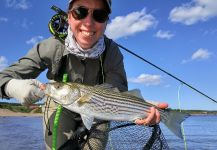 Striped Bass Fly-fishing Situation – Amelie Caron shared this Photo in Fly dreamers