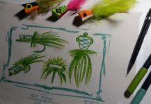 Kid Ocelos's Fly-fishing Art Pic | Fly dreamers