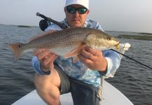 Redfish Fly-fishing Situation – Jarrod Stone shared this Impressive Pic in Fly dreamers
