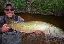 Fly-fishing Pic of Muskie shared by Nick Markowicz  | Fly dreamers