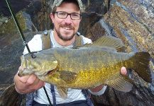 Nick Markowicz 's Fly-fishing Pic of a Smallmouth Bass | Fly dreamers