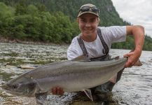 George Howard 's Fly-fishing Pic of a fall salmon | Fly dreamers