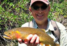 Mark Greer 's Fly-fishing Pic of a Native trout | Fly dreamers