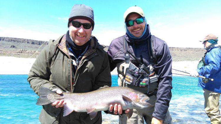 Fishing report lago strobel by noel gorvett fly dreamers for Lake of egypt fishing report