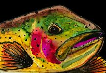 Harry Meraklis's Fly-fishing Art Photo | Fly dreamers