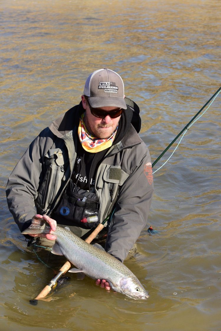 Fishing report lake erie tributaries by daren niemi fly for Fishing forecast ohio
