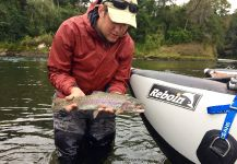 Rainbow trout Fly-fishing Situation – José Joaquin  Epple shared this Sweet Photo in Fly dreamers