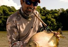 Kid Ocelos 's Fly-fishing Picture of a Pacu | Fly dreamers