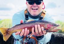 Mike Campbell 's Fly-fishing Photo of a Coastal cutthroat | Fly dreamers