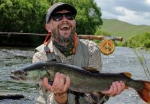 Tomasz Talarczyk 's Fly-fishing Pic of a Taimen | Fly dreamers