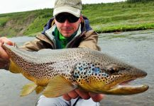 Fly-fishing Pic of von Behr trout shared by BERNET Valentin | Fly dreamers