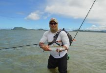 Fly-fishing Situation of Bonefish shared by Brandon Leong