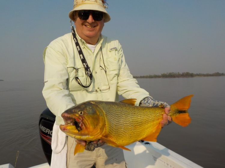 Good Fly-fishing Situation of Tiger of the River - Image