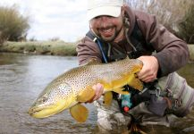 Fly-fishing Picture of Brownie shared by Scott Graham | Fly dreamers