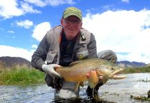 Fly-fishing Pic of Brownie shared by Geoff Johnston | Fly dreamers