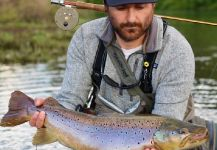 von Behr trout Fly-fishing Situation – Felipe Alejandro Alvarez Romero shared this Impressive Pic in Fly dreamers