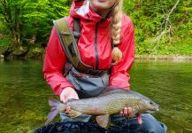 Lady of the stream Fly-fishing Situation – Uros Kristan - URKO Fishing Adventures shared this Image in Fly dreamers