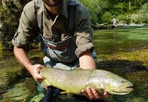 Fly-fishing Situation of Marble Trout - Photo shared by Uros Kristan - URKO Fishing Adventures | Fly dreamers