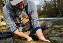 Rainbow trout Fly-fishing Situation – Uros Kristan - URKO Fishing Adventures shared this Good Photo in Fly dreamers