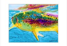 Harry Meraklis's Impressive Fly-fishing Art Image | Fly dreamers
