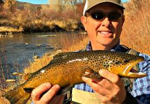 Mark Greer 's Fly-fishing Pic of a Brown trout | Fly dreamers