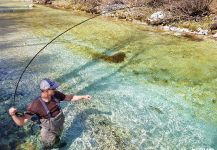 Fly-fishing Situation of Rainbow trout - Image shared by Uros Kristan - URKO Fishing Adventures | Fly dreamers