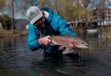 Rainbow trout Fly-fishing Situation – Uros Kristan - URKO Fishing Adventures shared this Interesting Image in Fly dreamers
