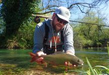 Fly-fishing Situation of Grayling shared by Uros Kristan - URKO Fishing Adventures