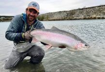 Christof Menz 's Fly-fishing Catch of a Rainbow trout | Fly dreamers