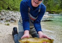 Marble Trout Fly-fishing Situation – Uros Kristan - URKO Fishing Adventures shared this Photo in Fly dreamers