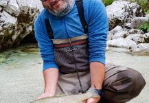 Marble Trout Fly-fishing Situation – Uros Kristan - URKO Fishing Adventures shared this Pic in Fly dreamers