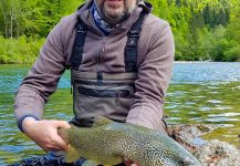 Marble Trout Fly-fishing Situation – Uros Kristan - URKO Fishing Adventures shared this Cool Photo in Fly dreamers