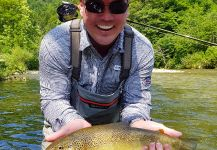 Marble Trout Fly-fishing Situation – Uros Kristan - URKO Fishing Adventures shared this Sweet Image in Fly dreamers