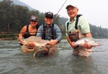Brian Mack 's Fly-fishing Pic of a Pink salmon | Fly dreamers