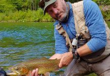 Rainbow trout Fly-fishing Situation – Uros Kristan - URKO Fishing Adventures shared this Image in Fly dreamers